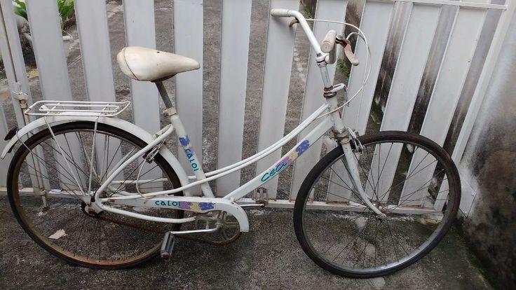 bicicleta caloi ceci antiga raridade colecionador