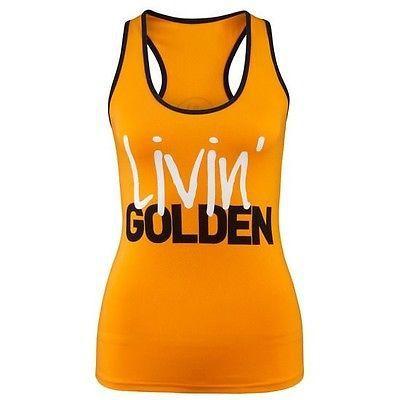 Zumba Fitness Gold Instructor 'Livin Golden' Racerback