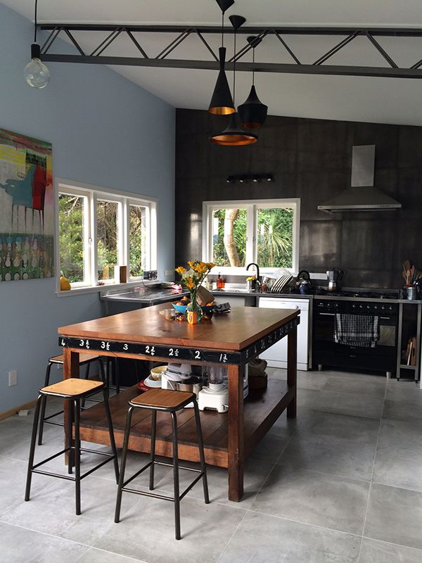 Paradox Grey - the tile used in the Gourley kitchen