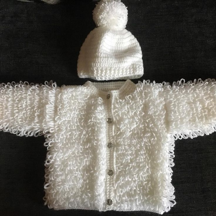 "6 Likes, 1 Comments - Ginette Lowther (@whoslovinu_yarns) on Instagram: ""#babyfashion #babylove #babycardigan #crochet #babyshower #baby #babygirl"""