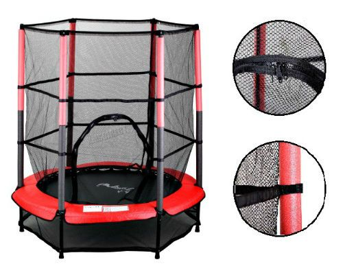 4.5FT Kids Tramboline Enclosure Safety Net Children Outdoor Sport Activity Toy  #Unbranded