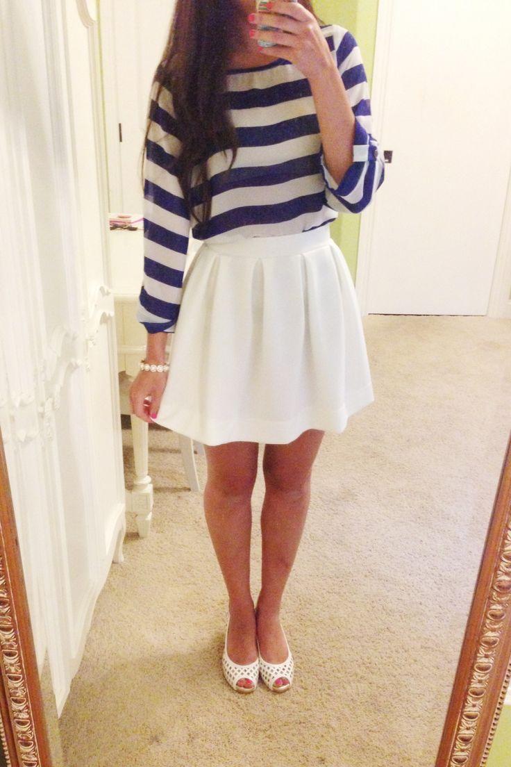 andrea mclean mini skirt