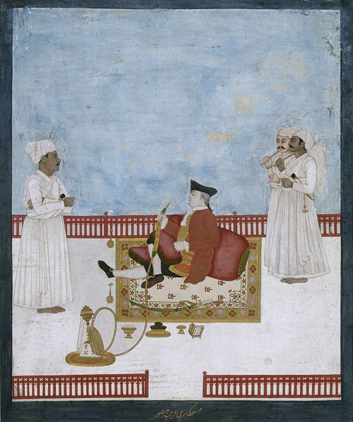 Painting - Portrait of East India Company official - Victoria & Albert Museum - c1760-64