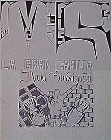 Mara Salvatrucha Graffiti