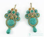 Earrings Pirus by ~WiolaJ on deviantART