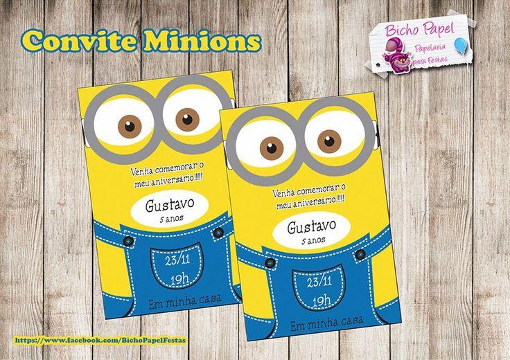 Kit Festa Minions Para Imprimir Grátis