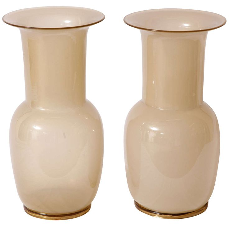 Tomaso Buzzi for Venini - Incamiciato vases | From a unique collection of antique and modern vases and vessels at https://www.1stdibs.com/furniture/decorative-objects/vases-vessels/