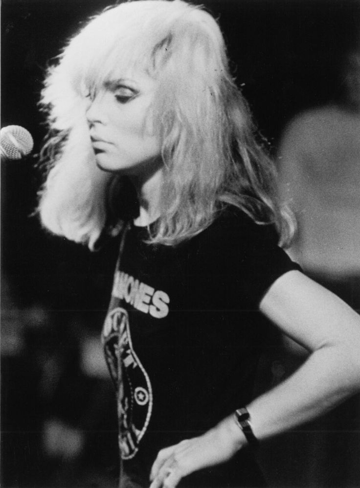 Deborah Harry.  I saw Debbie Harry  Blondie live in the summer of 1977 at CBGBs which was a dive bar in the middle of the worst part of NYC.  She was young and beautiful, wore a very short pink dress and high stilletto heels, and there were like 50 of us in the crowd.  People were spraying beer on the band while they played songs that later proved immortal.  A seminal piece of NY rock history.