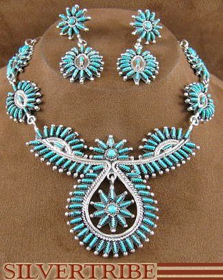 Love turquoise jewelry especially the handmade native american kind