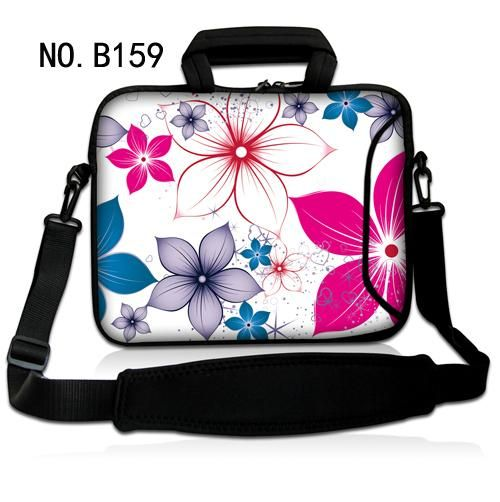Fashion Flowers Laptop Notebook Shoulder Bag Case Cover Computer PC w/handle For ThinkPad HP DELL SONY Asus #Affiliate