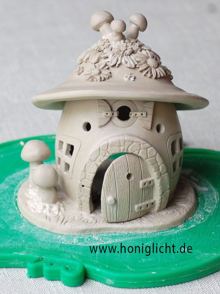 fairyhouse / Elfenhäuschen von Honiglicht-Keramik