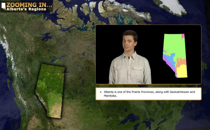 Alberta Grade 4 Social Studies 4.1 - Learn Alberta - Watch the video, then click the map to get more. http://www.learnalberta.ca/content/sszi/en/