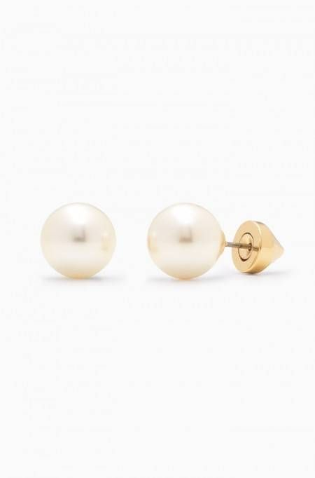 Don't choose between fierce & fair - wear both with our gold stud earrings…