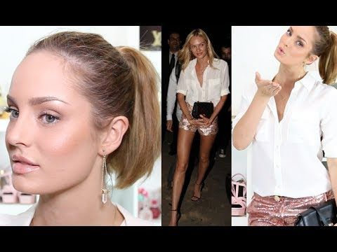Candice Swanepoel Inspired Makeup and Outfit <3 Chloe Morello!! Check out her You Tube channel :)