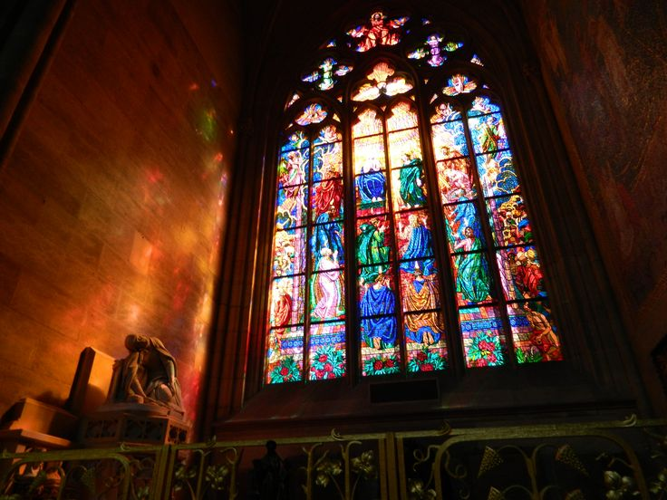 In inside St. Vitus Cathedral