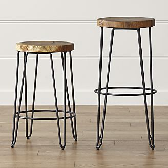 www.home2kitchen…. Origin Backless Bar Stools, Crate