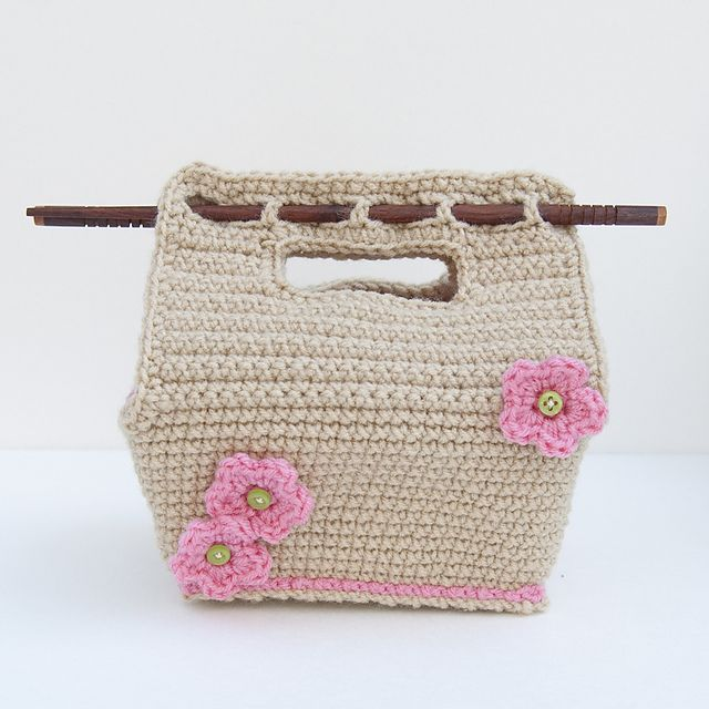 ... : lunch bento box crochet pattern Crochet Purses & Bags Pi