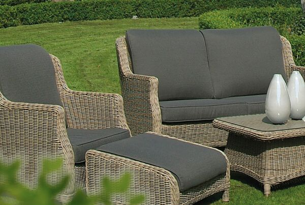die besten 25 rattan gartenm bel ideen auf pinterest. Black Bedroom Furniture Sets. Home Design Ideas