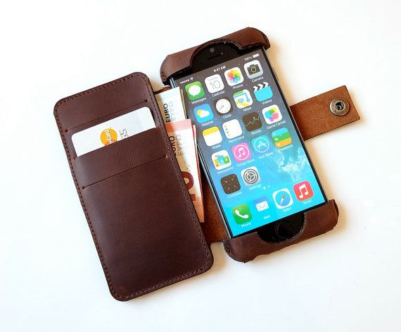 iPhone 6s leather case iPhone 6 leather case by NeroccoCases