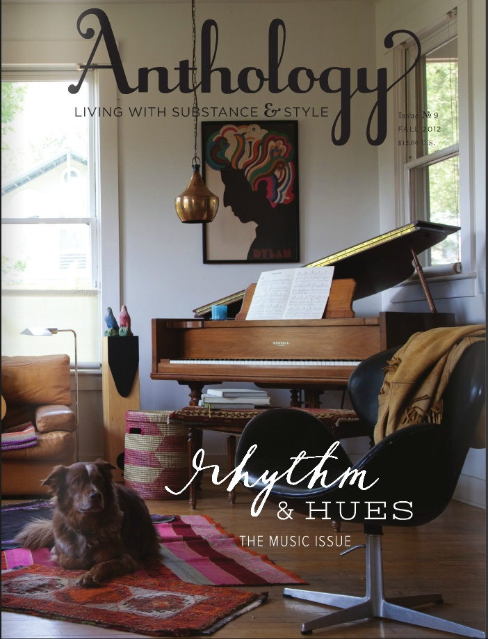 Brand new! Anthology Magazine No. 9 - Fall 2012 - gorgeous issue!