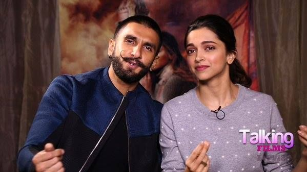 Deep and Ranveer Singh ♥ ‪#‎BajiraoMastani‬promotions