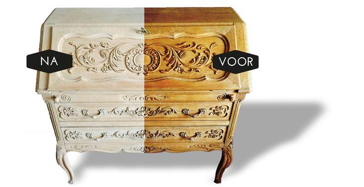 17 best images about houten meubelen luchtgommen on pinterest doors van and met - Kast voor het opslaan van boeken ...