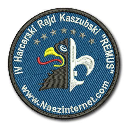 Naszywka IV Harcerski Rajd Kaszubski Remus www.Naszinternet.com