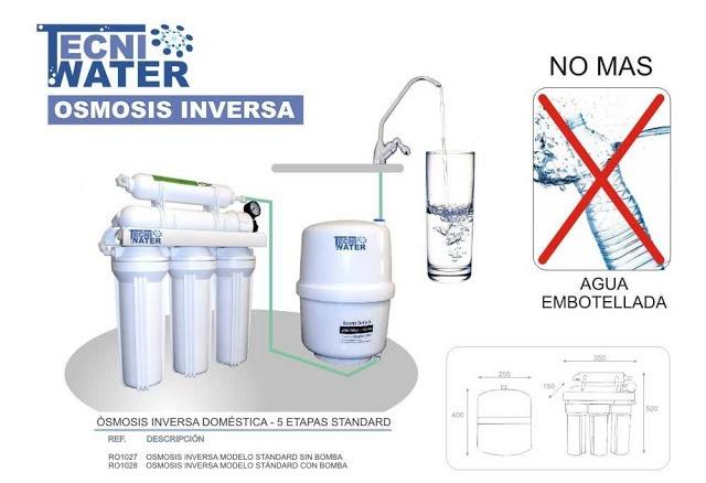 14 best osmosis inversa sistema de tratamiento de aguas for Osmosis inversa domestica