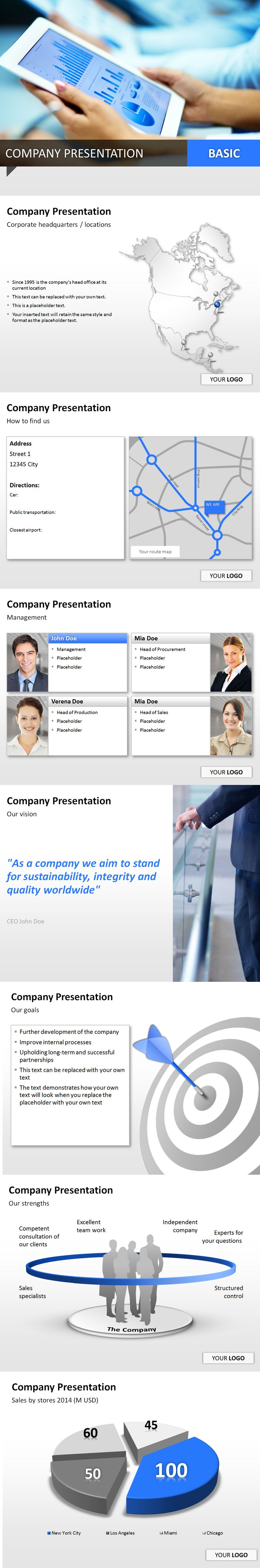 Present your #company with high-quality #PowerPoint templates and convince your audience with an amazing #presentation!