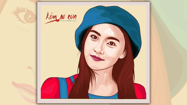 I just want show to you how to draw vector portrait use illustrator cc. Here first I'll lock the layer models and more setting. After it i work with pen tool to draw. Thanks for visiting enjoy!