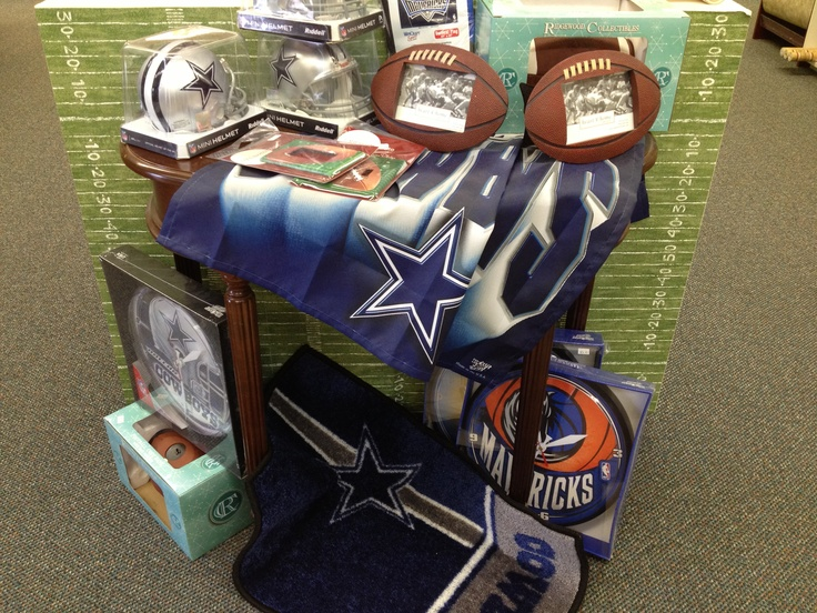 32 best images about sports decorating on pinterest for Dallas cowboys stadium wall mural