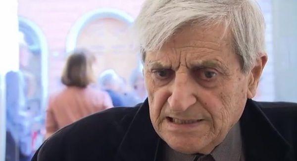 "Gianfranco Baruchello: ""Posta in partenza"", performance Biennale  2013"