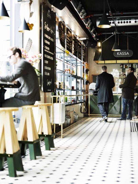 Vigarda, Stockholm. Restaurant interior design.
