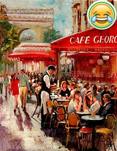 #manythings A beautiful scene in the city of love, Paris. Located on the Champs Elysees in Paris, this timeless #cafe, Cafe George V, has been part of this grand...