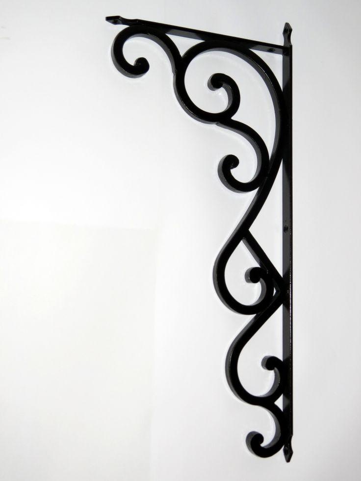 http://www.creafer.com/meubles-fer-forge/potences-d-etagere.html