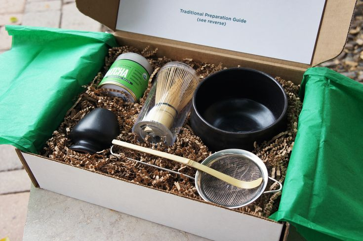 Complete Matcha Gift Set -- contains everything you need to prepare the perfect bowl of matcha in the traditional Japanese Tea Ceremony style. Makes an excellent gift for matcha lovers or people who have never tried matcha before.