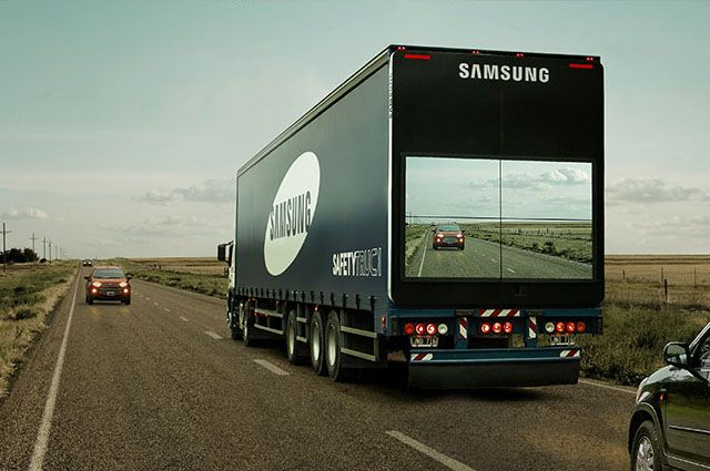 Samsung wants to help make roads safer by incorporating some camera technology i…