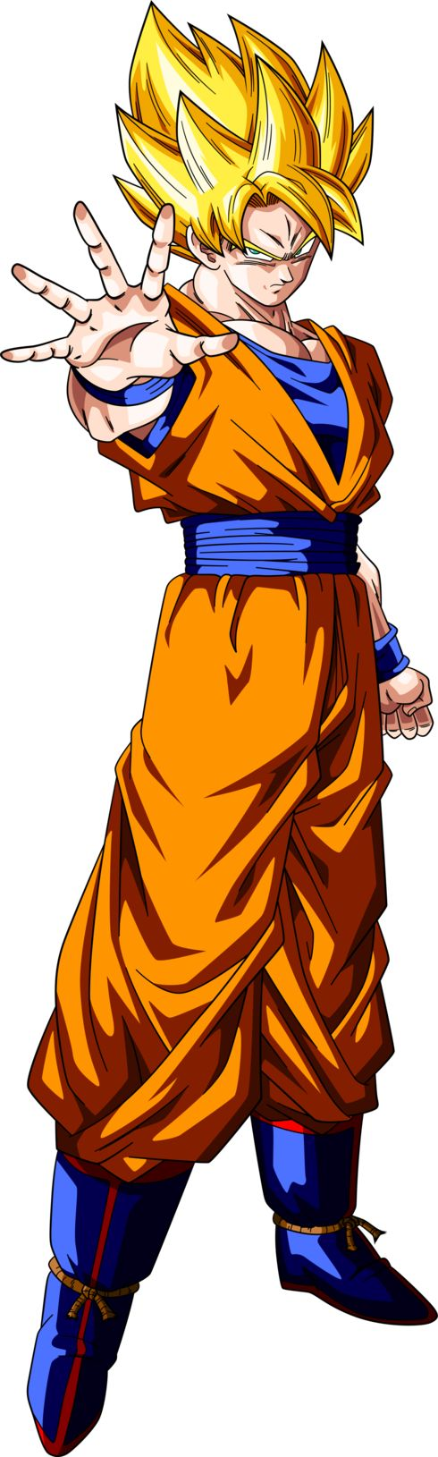 Super Saiyan Goku #2 Alt Palette #2 by RayzorBlade189