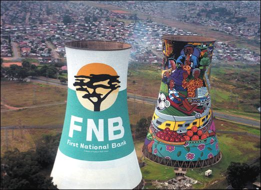 Soweto's famous bunjee jumping towers