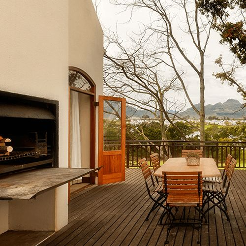 Our awesome 2 bedroom family suite features a beautiful balcony with an outside barbeque/braai area.