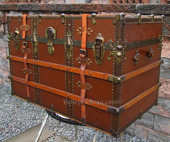 97 Best Images About Antique Travel Trunk On Pinterest