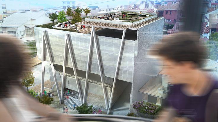 Anteproyecto, encargo para edificio comercial.