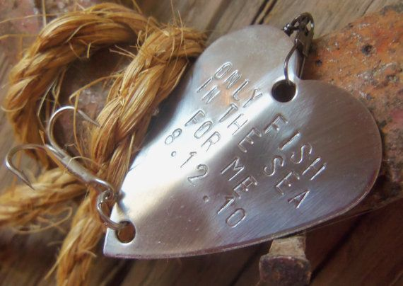 5th Wedding Anniversary Gift For Husband: 5th Anniversary Personalized Fishing Lure Engraved