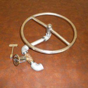 Gas Fire Pit Ring Gaslight Firepit Gas Lights, Fire Pits, Fire Glass, Fire Bowls