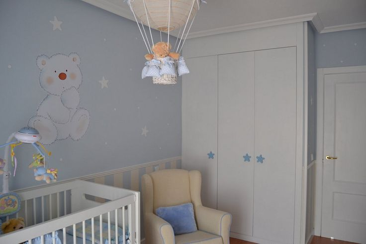 1000 ideas about cuartos de bebes varones on pinterest - Decoracion habitacion bebe ...