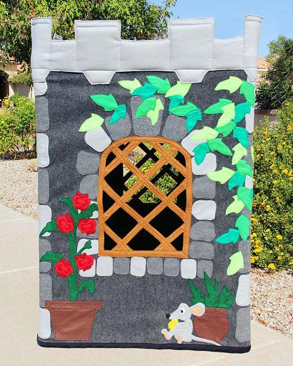 Knight's Castle Playhouse 35x45x48 Made to by castlesandbeanstalks
