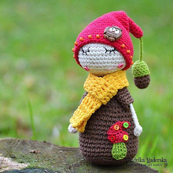 My little Oak hubby  crochet toy pattern DIY by VendulkaM on Etsy