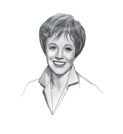 Did Julie Andrews write an autobiography?