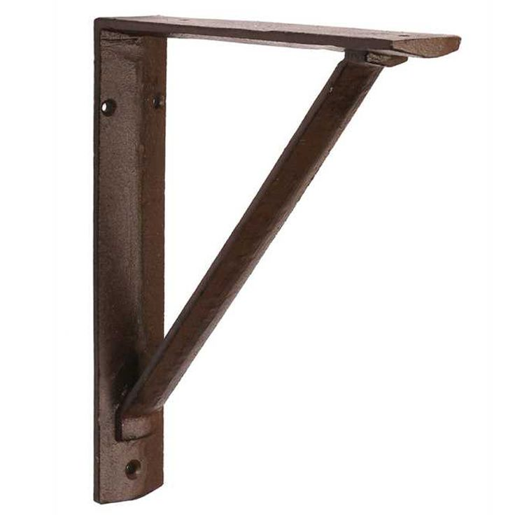 decorative metal brackets for countertops. Heavy duty iron bracket for shelves or countertops in a well worn  blackbrown shade 85 best Brackets Corbels by Iron Accents images on Pinterest