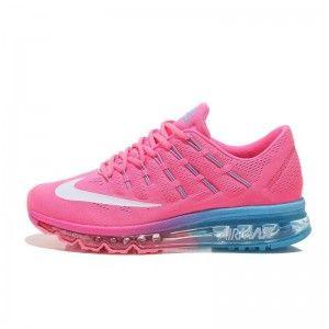 dam 0fy2b nike air max 2016 rosa vita blå skor. cheap nike free runair